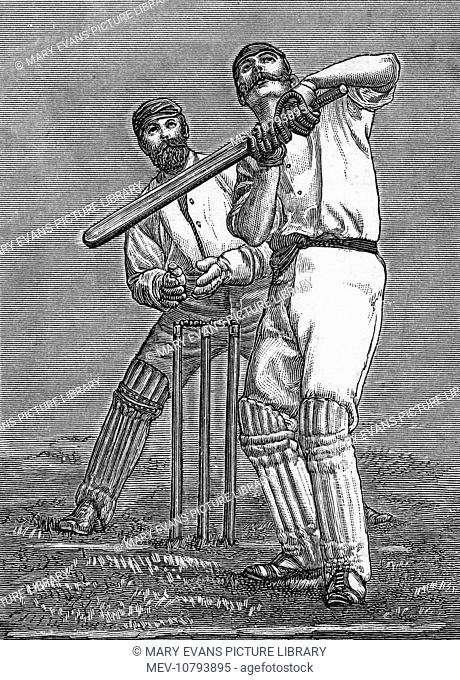A pokey batsman dealing with a high-dropping full-pitch