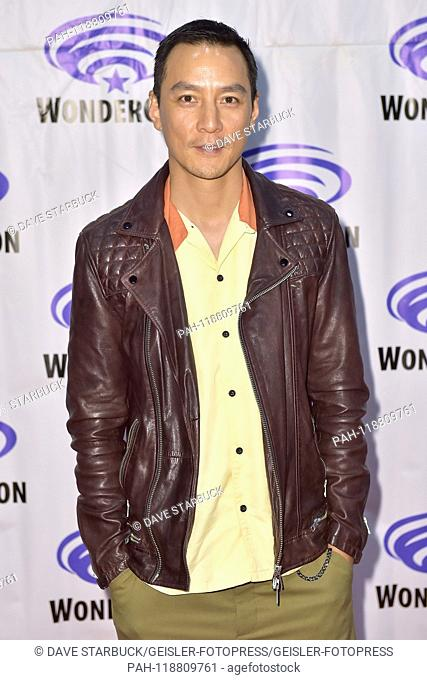 Daniel Wu at the Photocall for the AMC TV series 'Into the Badlands' at WonderCon 2019 at the Anaheim Convention Center. Anaheim, 29.03