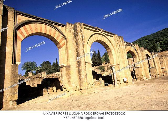 Mauresque remains of Medina Azahara, Córdoba, Spain