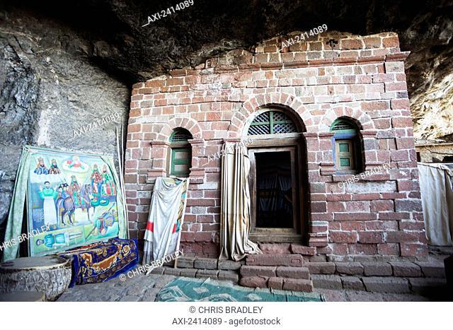 Nakuta Laaab monastery, near Lalibela; Amhara region, Ethiopia