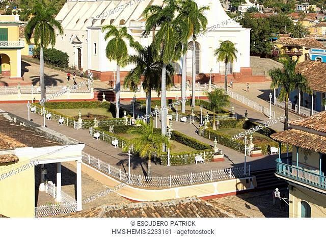 Cuba, Sancti Spiritus Province, Trinidad de Cuba listed as World Heritage by UNESCO