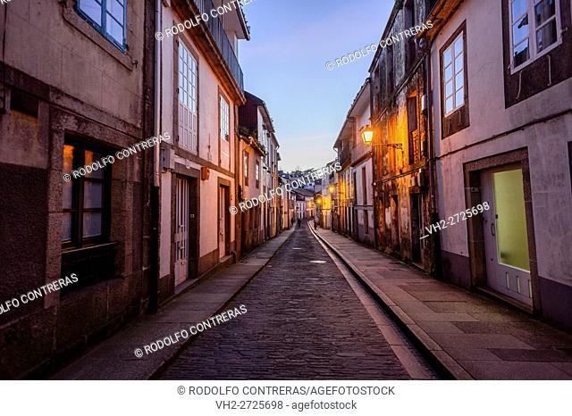 Street Hortas, Santiago de Compostela
