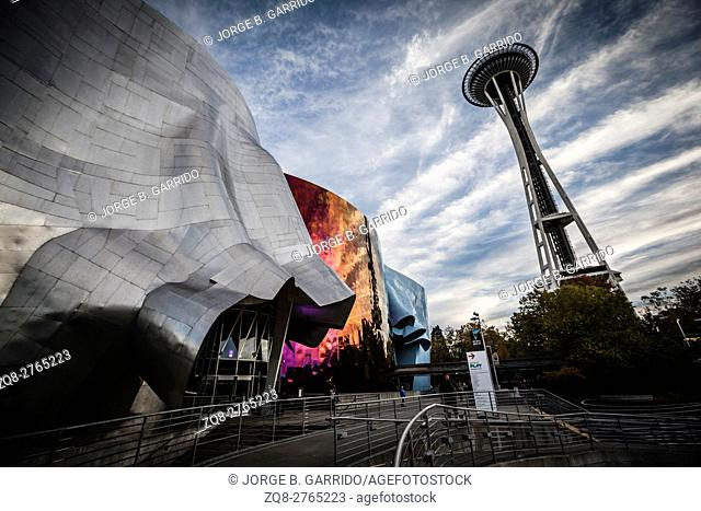 The Experience Music Project is a museum,Seattle, Washington State