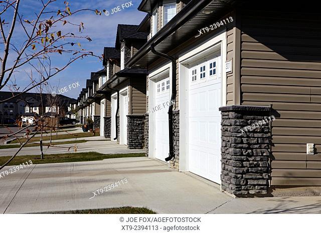 new build gated community starter suburban homes saskatoon Saskatchewan Canada