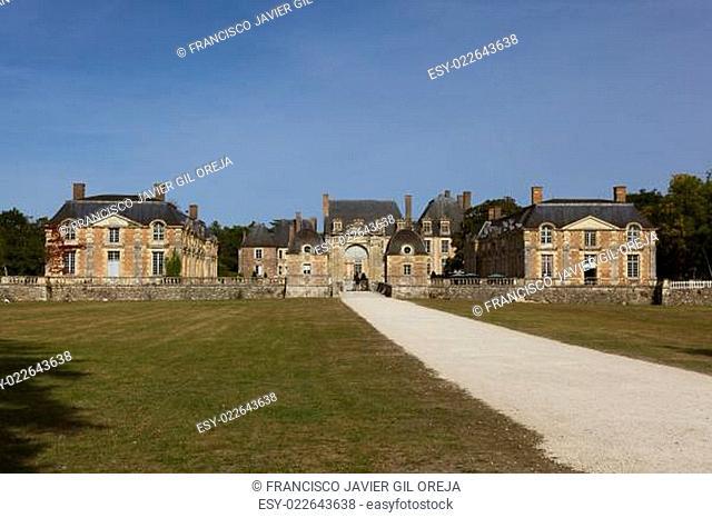 La ferte-Saint-Aubin castle, Loiret, Centre, France