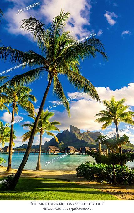 Four Seasons Resort Bora Bora, Motu Tehotu, Bora Bora, Society Islands, French Polynesia