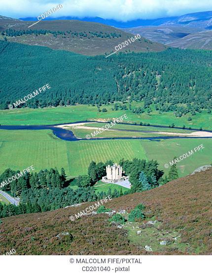 Braemar Castle. Aberdeenshire. Scotland