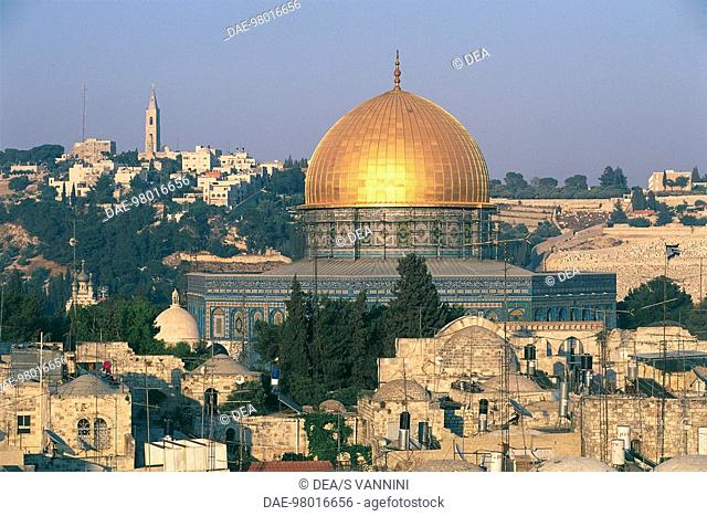 Israel - Jerusalem (UNESCO World Heritage Site, 1981) - Old city - Omar Mosque dome