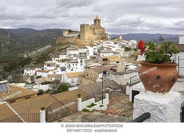 Castle of Iznajar, Cordoba. Spain