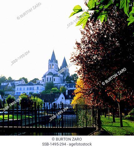 Saint-Ours ChurchLochesFrance