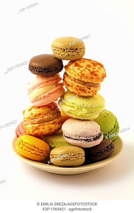 Macaroons  Typical French food