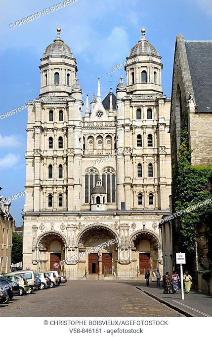 St Michel church, Dijon, Cotes d'Or, France