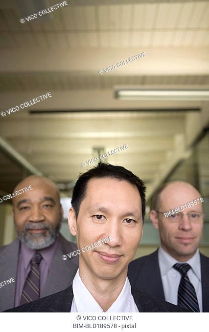 Confident multi-ethnic businessman