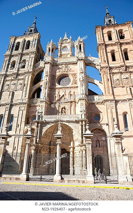 CATHEDRAL, Astorga, Leon, Spain