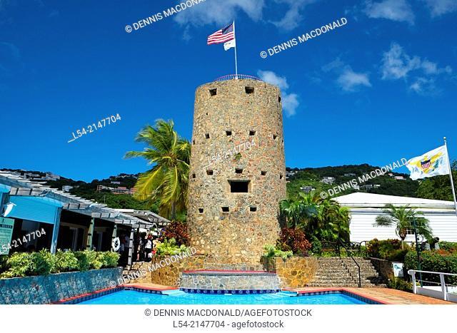 Blackbeard's Castle St. Thomas USVI US Virgin Islands Charlotte Amalie Territory Caribbean Island