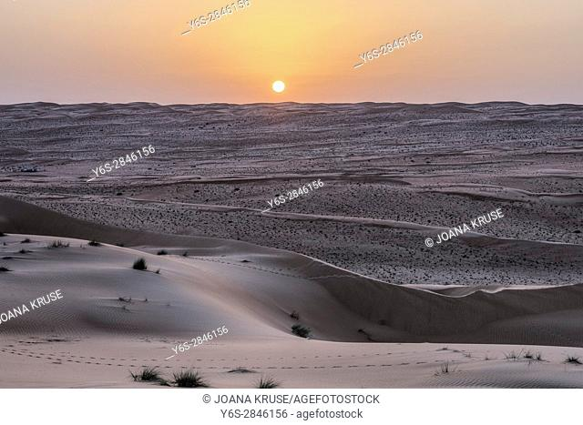 Wahiba Sands, Oman, Middle East, Asia