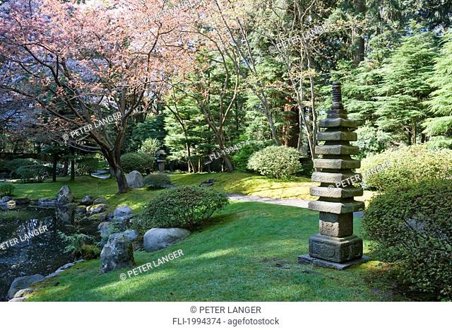 Nitobe Memorial Garden, A Traditional Japanese Tea And Stroll Garden ...