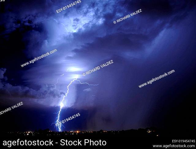 Lightning in Tucson