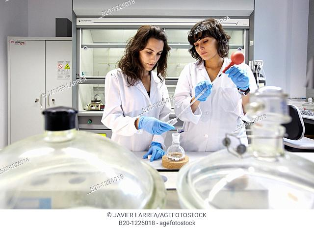 Polymer laboratory. Materials Physics Center is a joint center of the Spanish Scientific Research Council CSIC and the University of the Basque Country UPV/EHU
