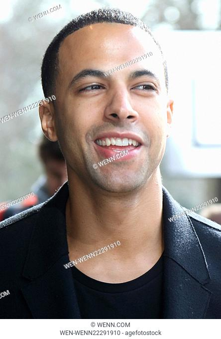 TRIC Awards 2015 at the Grosvenor House Hotel, Park Lane, London Featuring: Marvin Humes Where: London, United Kingdom When: 10 Mar 2015 Credit: WENN