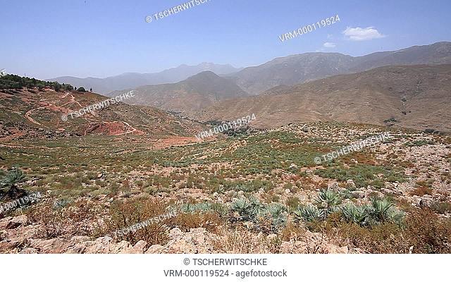Atlas, Atlas Mountains, Morocco, North Africa, Africa