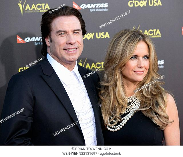 2015 G'DAY USA Gala featuring the AACTA International Awards presented by Qantas at Hollywood Palladium - Arrivals Featuring: John Travolta