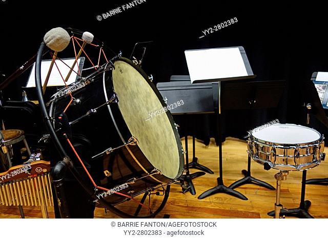 Drums Backstage, Wellsville, New York, USA