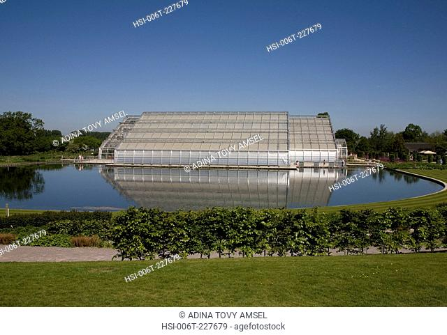 UK. England. The new Bicentinary Glasshouse. Wisley Gardens. Surrey