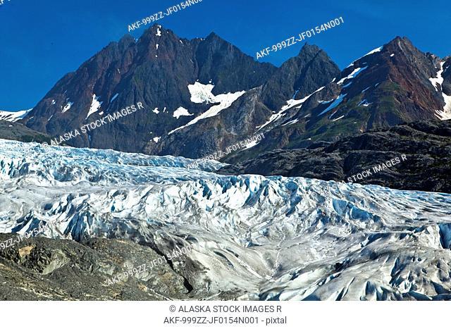 Riggs Glacier, Glacier Bay National Park & Preserve, Southeast Alaska, Summer