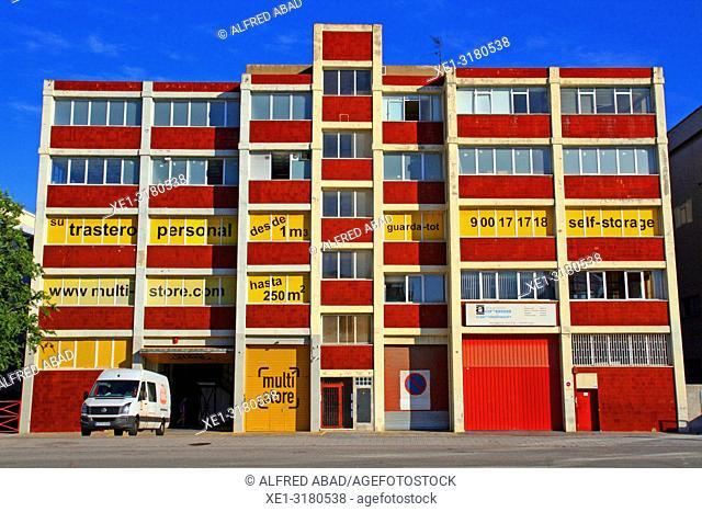 multi-store industrial building, Hospitalet de Llobregat, Catalonia, Spain