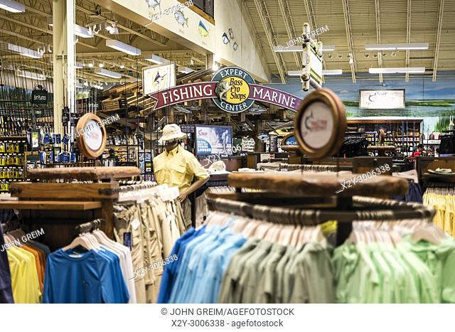 hot sale online a2a1f 76101 Bass Pro Shops retail store interior, Atlantic City, New Jersey, USA