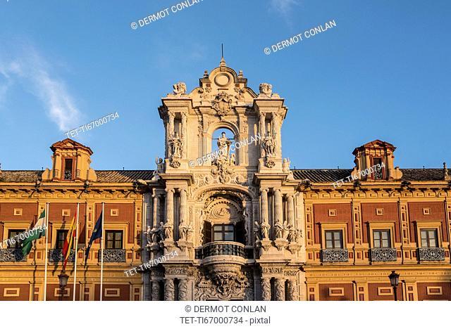 Spain, Seville, Palacio San Telmo