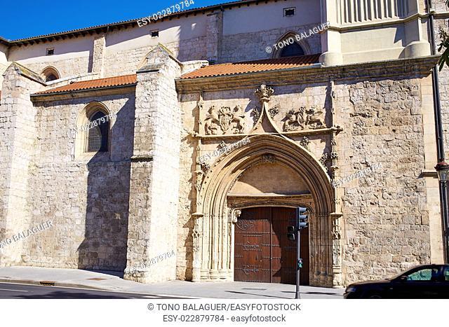 Merced church in Burgos at Castilla Leon of Spain