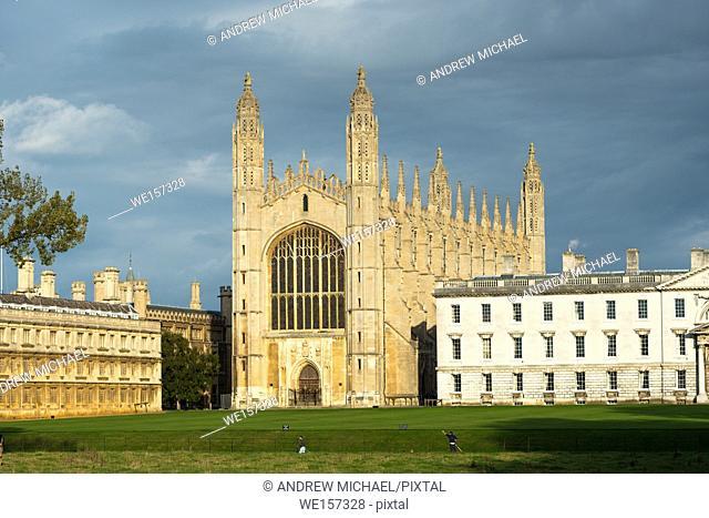 Kings College Chapel, Cambridge University, Cambridge, England