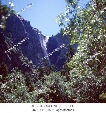 Der Yosemite-Nationalpark, Kalifornien, USA 1980er Jahre. The Yosemite National Park, California, US 1980s