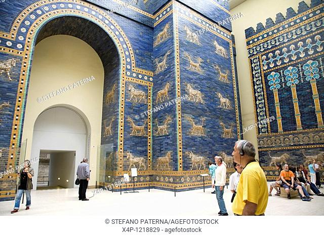 Ishtar Gate of Babylon, Pergamon Museum, Berlin, Germany