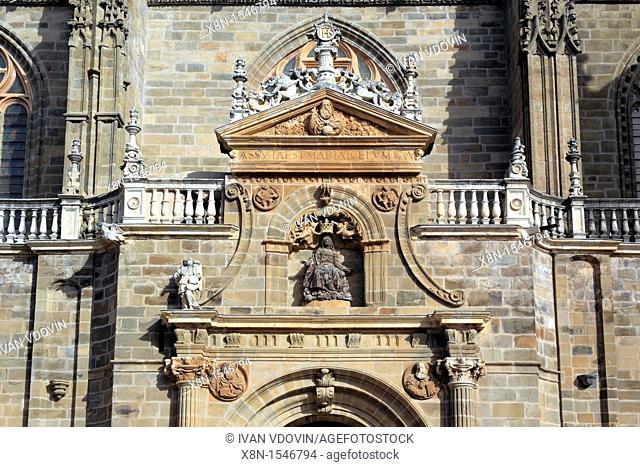 Catedral de Santa Maria de Astorga, Astorga, Leon, Spain