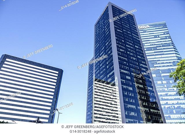 Argentina, Buenos Aires, San Nicolas, Catalinas Norte business complex, office buildings, skyscrapers, Torre BACS, Torre Alem Plaza, modern, architecture