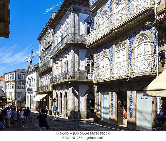 Arquitectura popular. Valença do Minho. Portugal