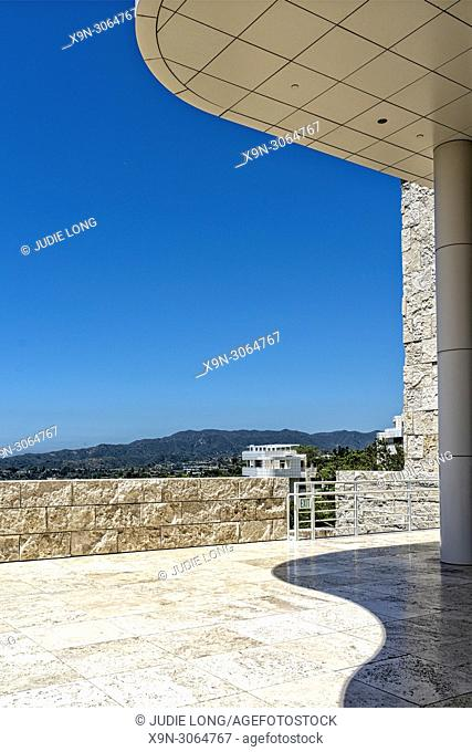 Getty Center Museum and Research Center, Los Angeles, CA. Richard Meier, Architect. J