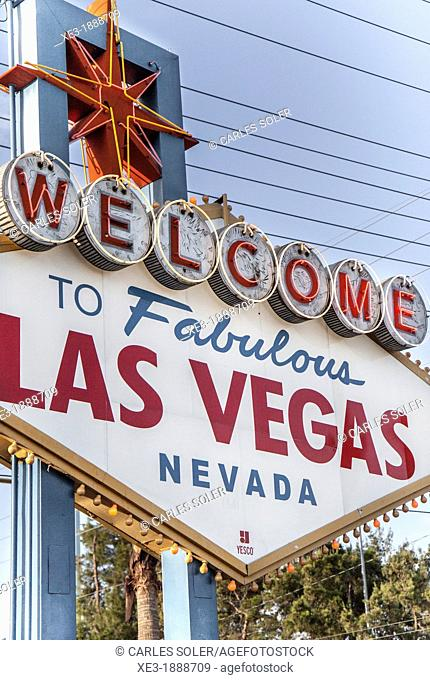 Welcome to Fabulous Las Vegas, Nevada, USA