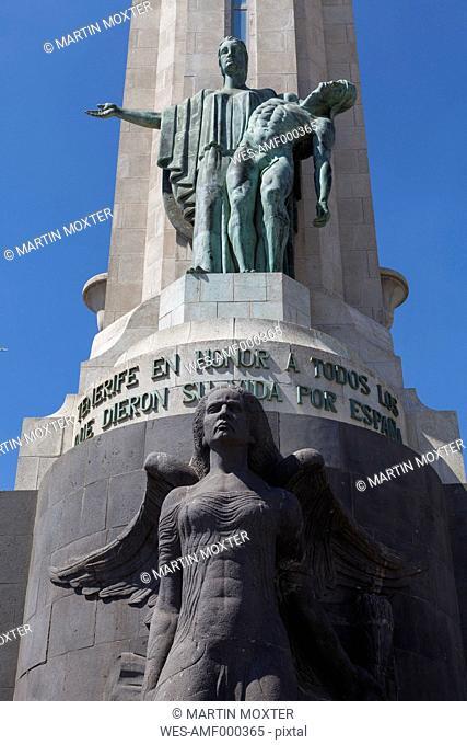 Spain, View of Cenotaph Monumento de los Caidos