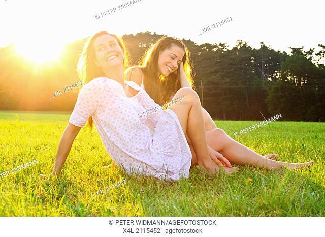 young beautiful women (model-released)