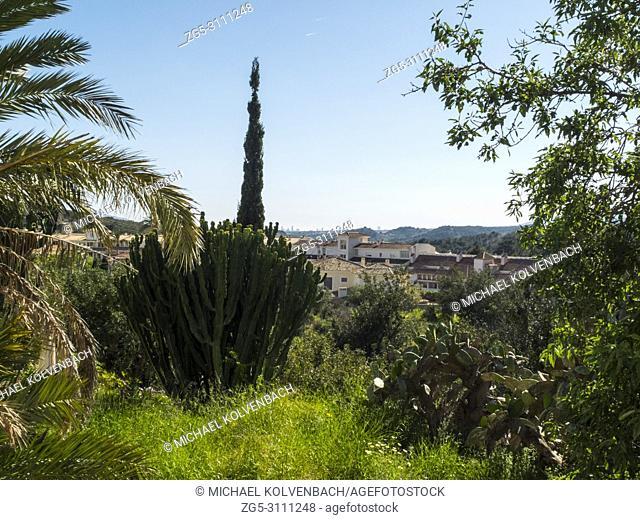 the village of Altea La Vella, Alicante, Spain