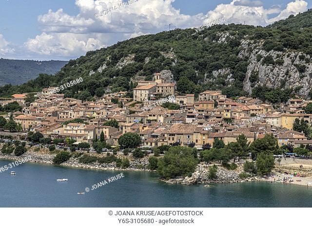 Bauduen, Var, Provence, France