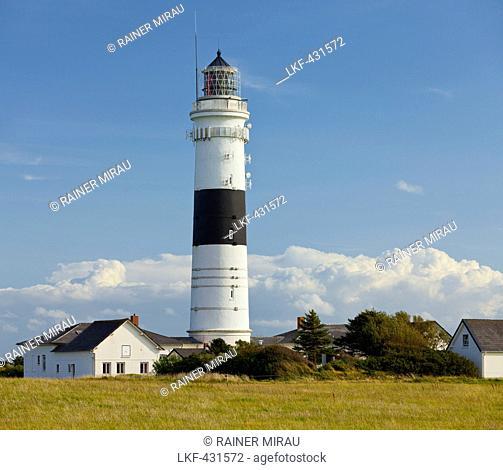 Kampen lighthouse, Sylt, Schleswig-Holstein, Germany