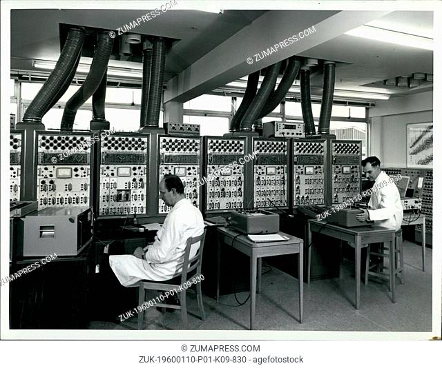 Mar. 02, 2012 - The Culham Laboratory, near Abingdon, Berkshire: A large electronic analogue computer and allied equipment used to study and optimise the bulk...