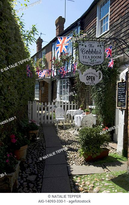 The Cobbles Tea Room, Rye, East Sussex, England