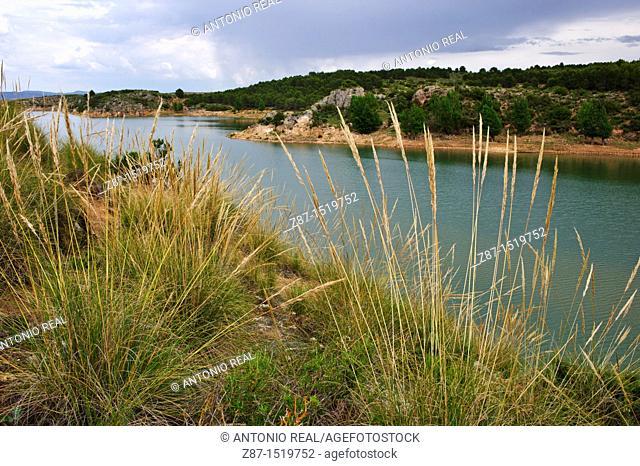 Almansa reservoir, Albacete province, Castilla-La Mancha, Spain