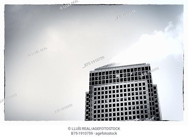 Canary Wharf, London, England, UK, Financial Center building